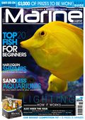 Mike maddox in marine habitat magazine